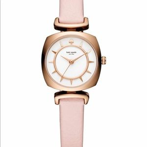 Kate spade pink with gold watch